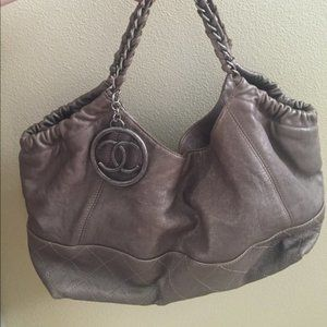 Chanel Cabas Petit Shopping Tote Authentic